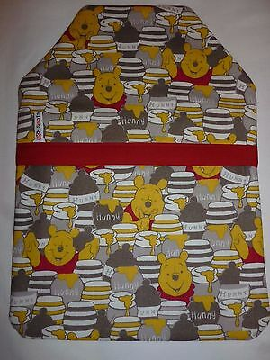 Handmade Winnie The Pooh Hunny Pot Fabric Hot Water Bottle Cover