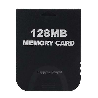 128MB Game Save Memory Card for Nintendo GameCube Wii Console System Storage New