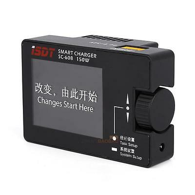 iSDT SC-608 Intelligent Charger 150W Smart Battery Charger IPS Screen For RC