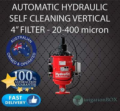 "AUTOMATIC HYDARULIC CONTROL SELF CLEANING VERTICAL FILTER - 4"" - 20-400 micron"