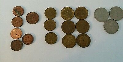 German Coins Lot of 19 1949-1994