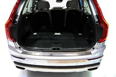 Stainless Steel Boot Edge Protector suitable for Volvo XC90 2 II Built 07/2015