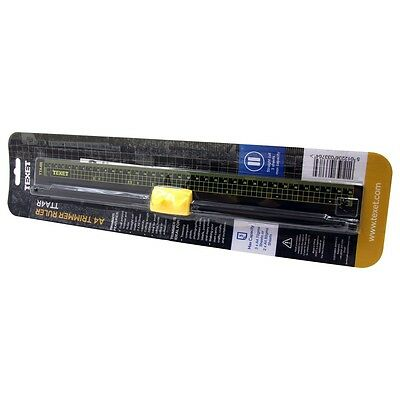 Texet A4 Trimmer Ruler Straight Cut Blade For Paper,card & Photo -Office Or Home