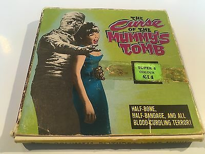 THE CURSE OF THE MUMMY'S TOMB  (COLUMBIA SUPER 8mm CLOUR FILM)