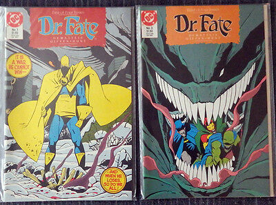 Dr. Fate (1987) - Issues #1 #2 #3 #4 Complete! DeMatties Giffen - High Grade!