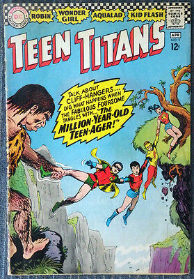 Teen Titans #2 (1966) - The Million-Year-Old-Teenager!!