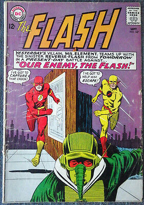 The Flash #147 - Our Enemy, the Flash! Reverse-Flash! Mr. Element!