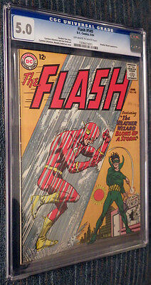The Flash #145 CGC 5.0 OW/W Pages - Weather Wizard Blows Up a Storm!