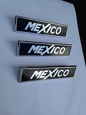Ford Escort Mexico Badges