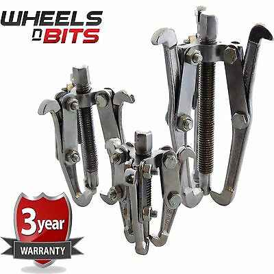 """3PC Bearing Gear Puller 3 Jaw Set Auto Mechanic 75 100 150MM 3"""" 4"""" 6""""  Pulley"""
