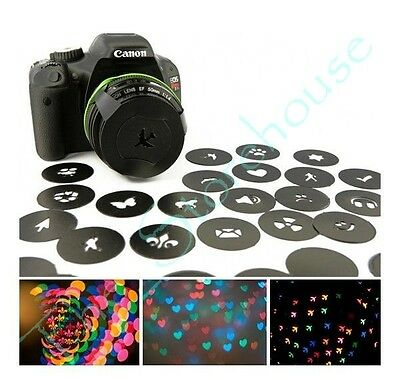 Bokeh Filter Camera Kit + Universal Holder with 21 Shapes Special Effects System