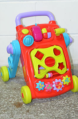Baby Toddler Activity Walker Shape Sorter