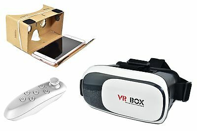 2018 VR Headset BOX Virtual Reality Glasses 3D for Samsung iPhone