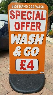 Advertising Pavement Shop Sign / Board  PRINTING INCLUDED  FREE DELIVERY