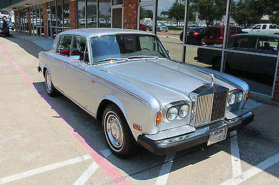 1979 Rolls-Royce Other Base 4 Door 1979 Rolls Royce Silver Shadow II 75th Silver Anniversary Edition