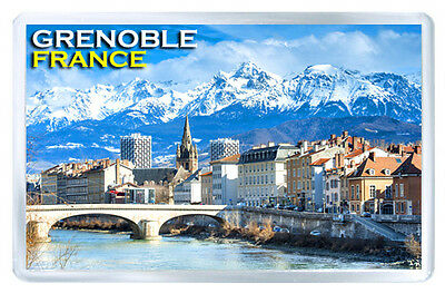 Grenoble France Mod2 Fridge Magnet Souvenir Iman Nevera