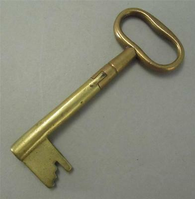 Early Two Color Brass Key Intricate Repair?