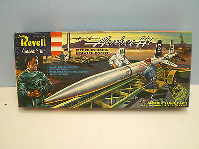 Aerobee Hi Research Rocket by Revell kit No.H1814-98 First Issue (1958)