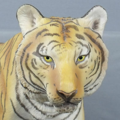 FRANKLIN MINT SELTENER GROSSER TIGER ca. 57 cm