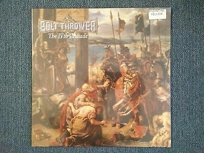 BOLT THROWER - The IV'th Crusade - YELLOW LP (LTD 300) - NEW & SEALED