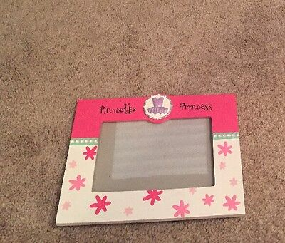Pirouette Princess Picture Frame