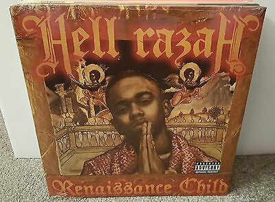 Hell Razah / Renaissance Child Dbl Lp Og Us 2007 Sealed! Mf Doom Sunz Of Man Wu