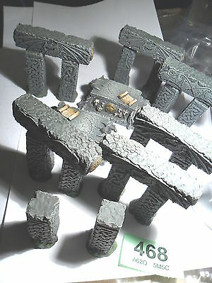 Resin stone circle standing stones Empire Mordheim Frostgrave Sigmar LotR L468