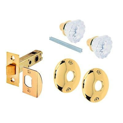Prime Line Products Glass Knob with Latch Bolt E 2317