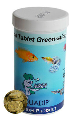 Sticky Green Food Tablets 250 ml Pot
