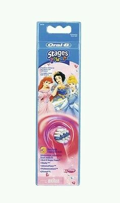 Oral-B 3 Brossettes Kids Stages Power Disney Princesses