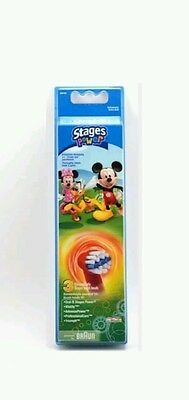 Braun Oral-B 3 Brossettes Stages Kids Power Disney Mickey & Minnie