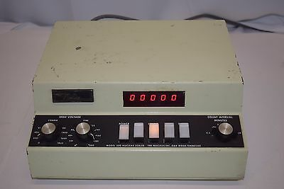 The Nucleus - Model 500 - Nuclear Scaler - Voltage - Timer
