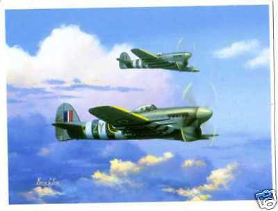 Hawker Typhoons 1944--Aircraft Print Barry Price
