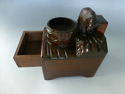 Antique Swiss Music Box Hand Carved Wooden Case Play 2 Songs (Watch The Video)