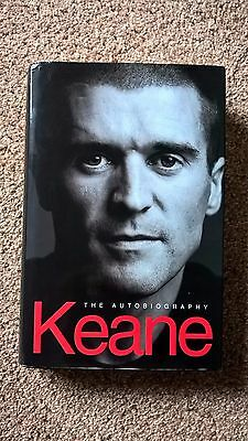 Signed Roy Keane Autobiography