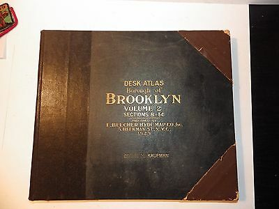 Brooklyn, NY Atlas Belcher Hyde Volume 2, 1929 Williamsburg Greenpoint