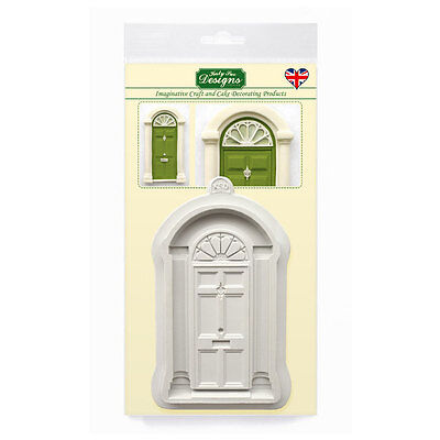 Katy Sue Designs CLASSIC DOOR CE0054 Cake Crafting Mould CHRISTMAS