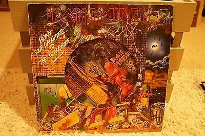 """Iron Maiden – Bring Your Daughter... ...To The Slaughter 12"""" Picture Disc"""