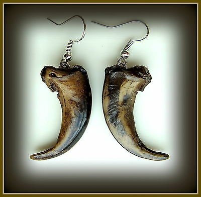 WOLF CLAW (replica) Earrings Jewelry - Authentic look WOLF Claws