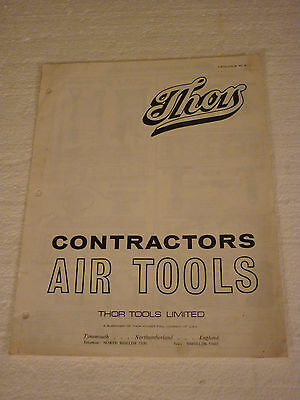 Thor Contractors Air Tools Catalogue Mc6  Breakers Diggers Pumps Grinders Drills
