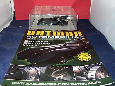 Eaglemoss Batman Automobilia - Issue 84 - Batman Returns (MOVIE) Batmobile