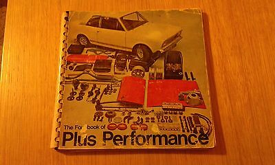 The Ford Book of Plus Performance. c1967 Cortina mk1 & mk2
