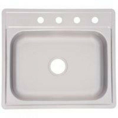 Franke Consumer Product Stainless Single Bowl Sink 25x22x7 FSS704NB