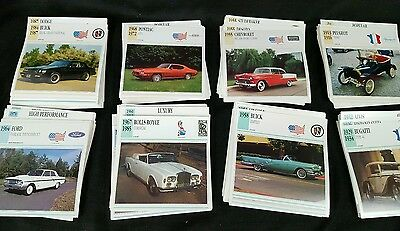 Atlas Editions Classic Cars Card Lot  Car 400 Cards All Makes Automobiles