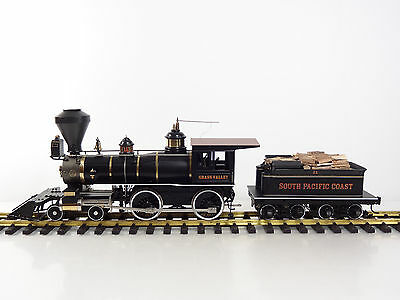 AccuCraft 1:24 Gauge One Southern Pacific Coast Grass Valley 4-4-0 Steam Engine