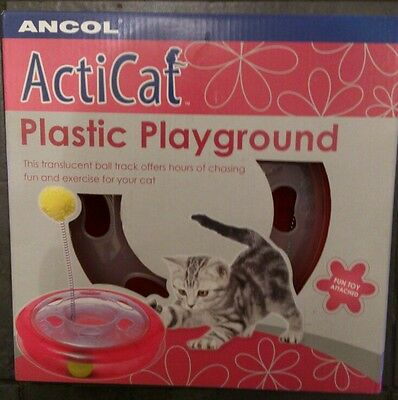 Ancol ActiCat Plastic Playground. Fun toy attached. New