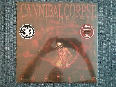 CANNIBAL CORPSE - Torture - ROSEWOOD LP (LTD 300) - NEW & SEALED