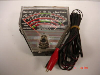 Gunson Sparktune Analyser - For Checking Dwell Angle,volts,ohms & Voltage Drop