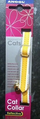 Cat Collar. Ancol. Reflective and Elasticated. Free Delivery.