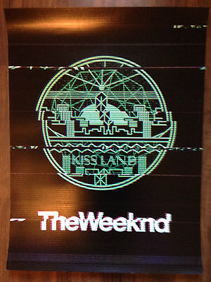 The Weeknd Kissland Tour Poster